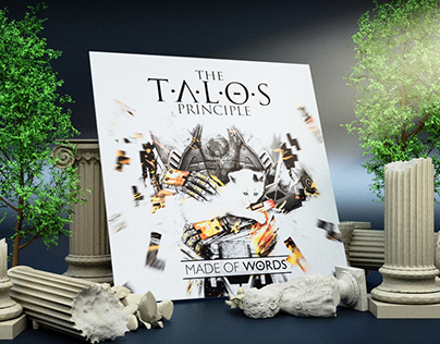 The Talos Principle Official Vinyl Packaging Design