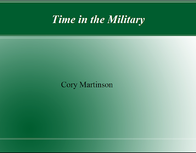 Cory Martinson: A Man With a Heart of Gold