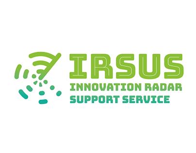 IRSUS Innovation Radar Support Service - logo, website