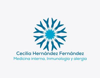 Desarollo de Imagotipo Dra. Cecilia Hernádez Fernández.