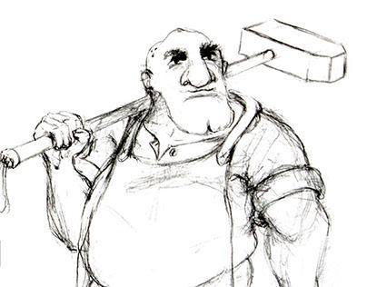 Guibelvrac'h character design