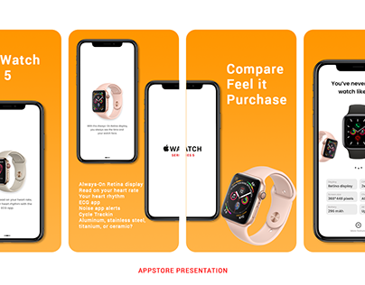 AppStore presentation of Apple Watch mobile app