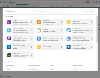 Salesforce Platform Product Design