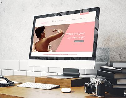 Website Design for Cape Breast Care Clinic