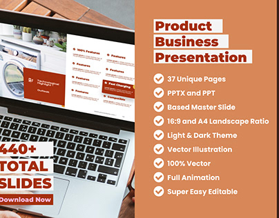 Electronic Product Business Presentation PowerPoint