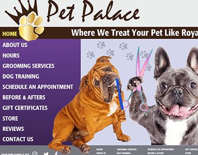 Web Project - Pet Palace Website Prototype