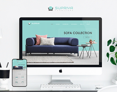 Supriya Furniture Website - UI & UXDesign.