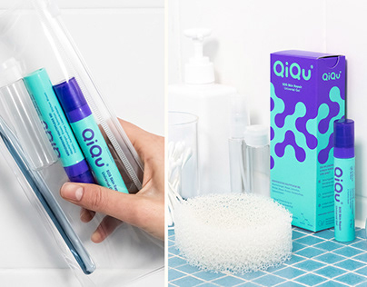 QiQu Skin Repair Brand Identity