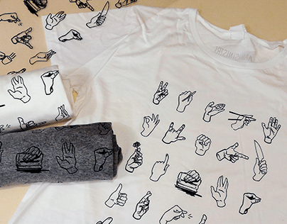 Left hands t-shirt