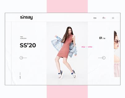 SINSAY Redesign Concept