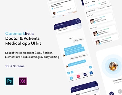 Caremarklives - For Doctor and Patient iOS UI Kit