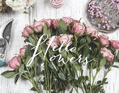 Hello Flowers! Identity & Website