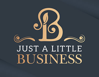 JUST A LITTLE BUSINESS LOGO