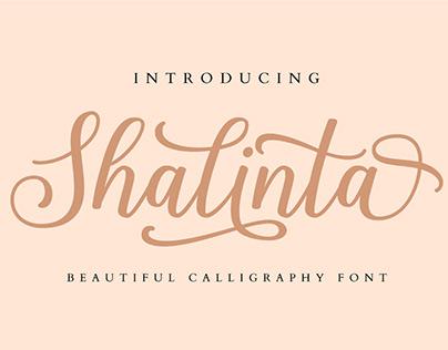FREE Shalinta Font