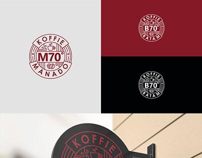 Koffie M70 & B70 - Logo & Product Packaging Design