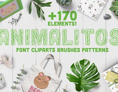 Animalitos BUNDLE! over 170 elements!