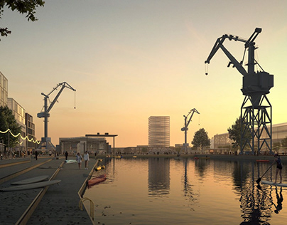 Bremenhaven - Archviz by Brick Visual