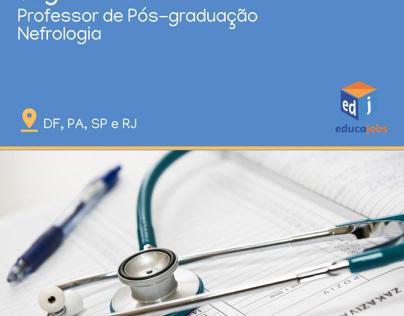 Professor de Nefrologia (pós-graduação)