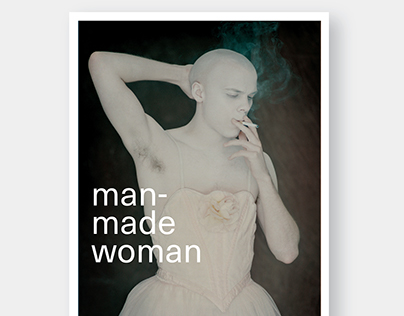 Cover for 'Man-made Woman'
