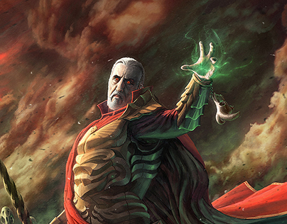 Star Wars Re-Imagined: Dark fantasy Count Dooku