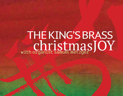 cd insert__The King's Brass. Christmas Joy