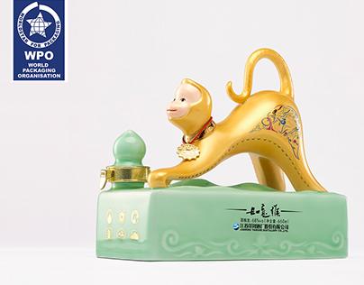 洋河如意猴 / 2017世界之星获奖作品 Packaging design