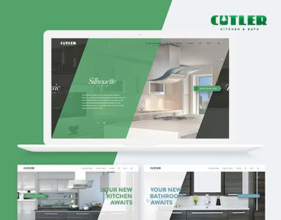 Cutler Kitchen & Bath * Website Design