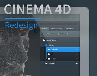 Cinema 4D Redesign