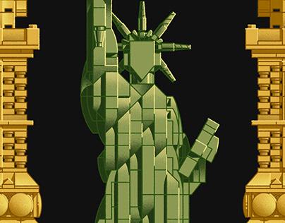 LEGO_Statue of Liberty
