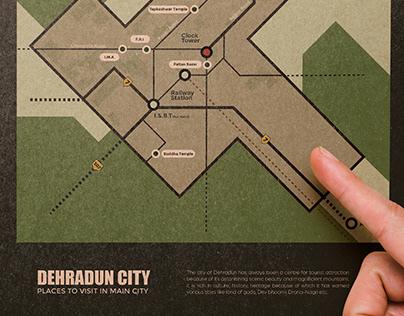 Dehradun - Schematic Map