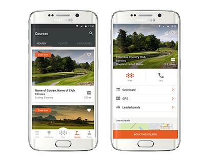 VPAR Golf: Discovering Golf Courses