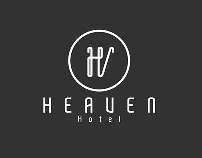 Logo Design minimalistic for Hotel HEAVEN