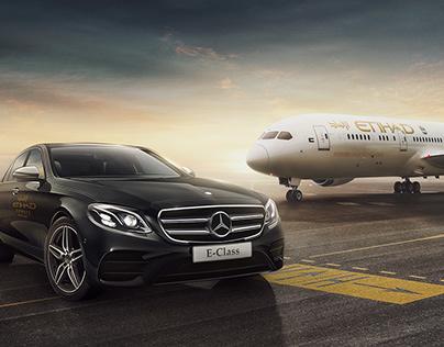 Mercedes Benz & Etihad Airways Partnership