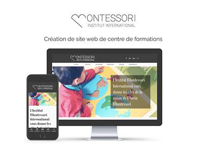 "Creation of website ""Institut Montessori International"""