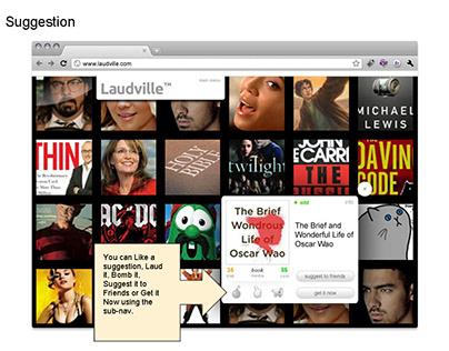 Laudville E-Commerce Site - UX, UI, jQuery