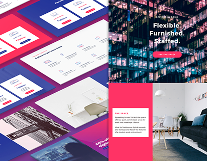 CoWorking - CloverPages - Landing Page Pack