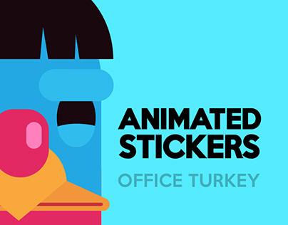 Office Turkey — Telegram Animated Stickers