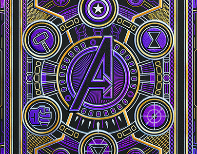 Theory11 x Avengers Playing Cards