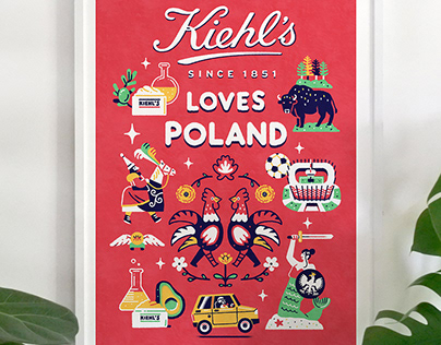 Kiehl's loves campaign / Colagene, Creative Clinic