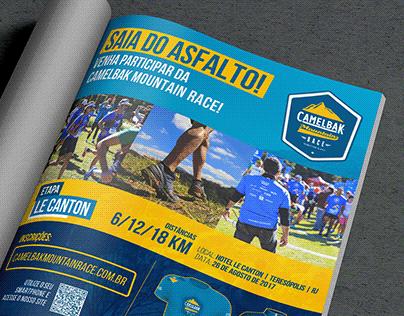 CamelBak Mountain Race - Magazine Ad