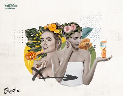 Dermoviva beauty campaign