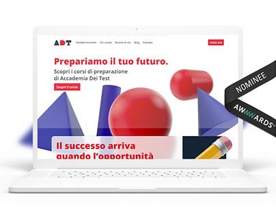 ADT — Website Redesign | UI / UX Design