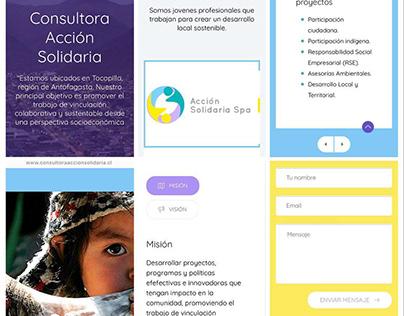 LandingPage Full Responsive · Tocopilla Chile