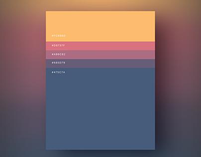 Minimalist Color Palettes 2018