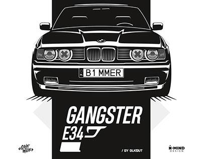 BMW E34 - Gangster