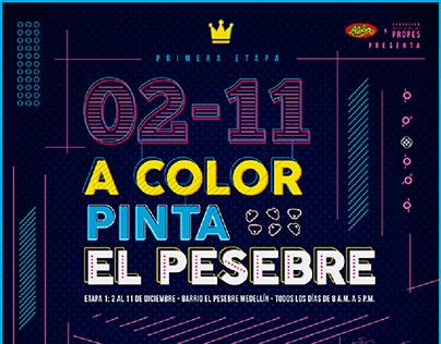 PROYECTO · ACOLOR PINTA EL PESEBRE · 11/17