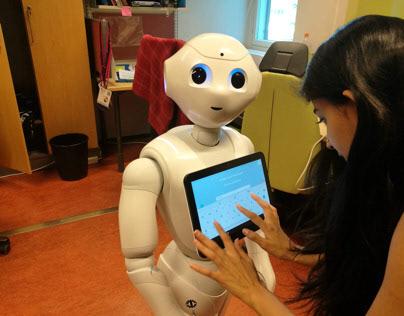 Volunteered for user testing of a University robot