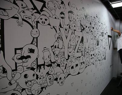 Pryzm Mural