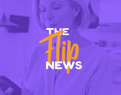 The Flip News | Projeto de UX/UI e Design Thinking