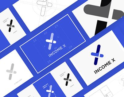 IncomeX® - Logo Design Process